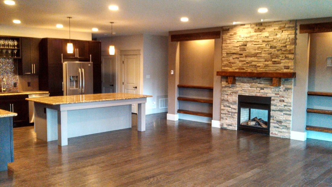 9 Foot Kitchen Island new construction - stonefly construction, llc
